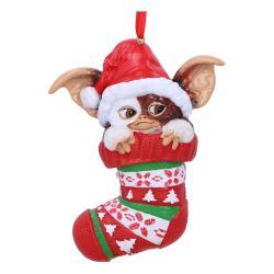 Gremlins Decoracións Árbol de Navidad Gizmo in Stocking Caja (6) - Imagen 1