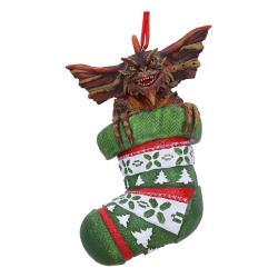Gremlins Decoracións Árbol de Navidad Mohawk in Stocking Caja (6) - Imagen 1