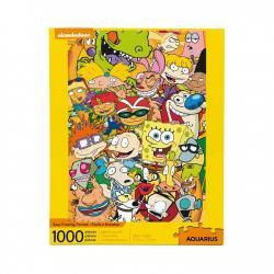 Nickelodeon Puzzle Cast (1000 piezas) - Imagen 1