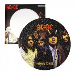 AC/DC Puzzle Disc Highway To Hell (450 piezas) - Imagen 1