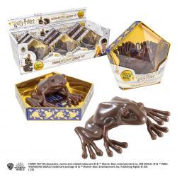 Harry Potter réplica Figura Antiestrés Rana de chocolate Expositor (9) - Imagen 1