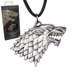 Juego de Tronos Colgante con Collar Stark Sigil Costume - Imagen 1