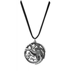 Juego de Tronos Colgante con Collar Targaryen Sigil Costume - Imagen 1