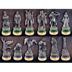 El Señor de los Anillos Piezas de ajedrez Las dos torres - Imagen 1
