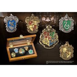 Harry Potter 5 Chapas Collección Casas de Hogwarts - Imagen 1