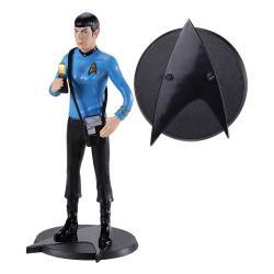Star Trek Figura Maleable Bendyfigs Spock 19 cm - Imagen 1