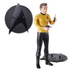 Star Trek Figura Maleable Bendyfigs Kirk 19 cm - Imagen 1