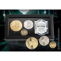 Harry Potter Réplica Set de Monedas El Banco Gringotts - Imagen 1