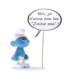 Los Pitufos Estatua Collectoys Comics Speech Pitufo Gruñón 22 cm *Edición Francesa* - Imagen 1