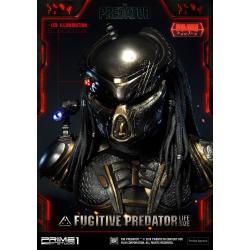 Predator 2018 Busto 1/1 Fugitive Predator Deluxe Ver. 76 cm - Imagen 1