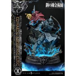 Fullmetal Alchemist Estatua 1/6 Edward & Alphonse Elric 56 cm - Imagen 1