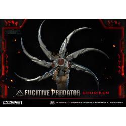 Predator 2018 Busto 1/1 Fugitive Predator Shuriken 65 cm - Imagen 1