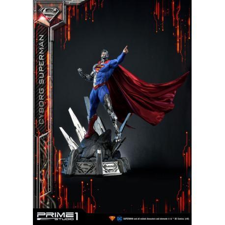 DC Comics Estatua 1/3 Cyborg Superman 93 cm - Imagen 1
