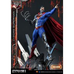 DC Comics Estatua Batman 1/3 Cyborg Superman & Cyborg Superman Exclusive 93 cm Surtido (3) - Imagen 1
