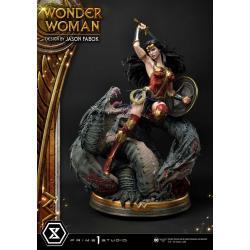 Wonder Woman Estatua 1/3 Wonder Woman vs. Hydra 81 cm - Imagen 1