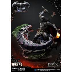 Dark Nights: Metal Estatua Batman Versus Joker Dragon Deluxe Ver. 87 cm - Imagen 1