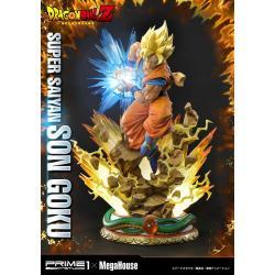 Dragon Ball Z Estatua 1/4 Super Saiyan Son Goku 64 cm - Imagen 1