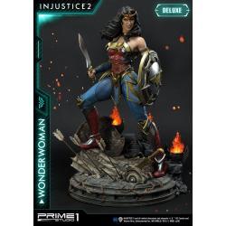 Injustice 2 Estatua 1/4 Wonder Woman Deluxe Version 52 cm - Imagen 1