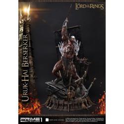 El Señor de los Anillos Estatua 1/4 Uruk-Hai Berserker 93 cm - Imagen 1