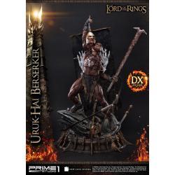 El Señor de los Anillos Estatua 1/4 Uruk-Hai Berserker Deluxe Version 93 cm - Imagen 1