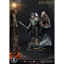 El Señor de los Anillos Estatua 1/4 Frodo & Gollum Bonus Version 46 cm - Imagen 1