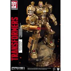 Transformers Generation 1 Estatua Megatron Gold Version 59 cm - Imagen 1