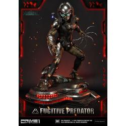 El Depredador Estatua 1/4 Fugitive Predator 75 cm - Imagen 1