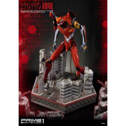 Neon Genesis Evangelion Estatua EVA Production Model-02 74 cm - Imagen 1
