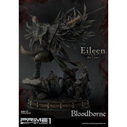 Bloodborne The Old Hunters Estatua Eileen The Crow 70 cm - Imagen 1
