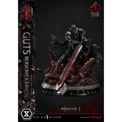 Berserk Estatua 1/4 Guts Berserker Armor Rage Edition Deluxe Version 67 cm - Imagen 1