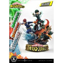 My Hero Academia Estatua Midoriya, Bakugo & Todoroki Deluxe Bonus Version 69 cm - Imagen 1