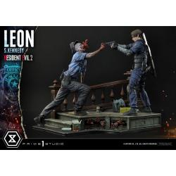 Resident Evil 2 Estatua Leon S. Kennedy 58 cm - Imagen 1