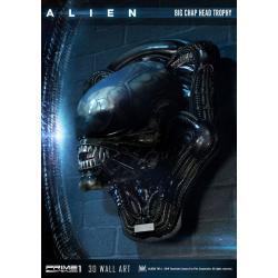 Alien Decoración de pared 3D Big Chap Head Trophy 58 cm - Imagen 1