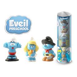 Los Pitufos Pack de 3 Minifiguras Preschool 10 cm - Imagen 1