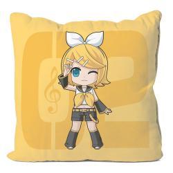 Vocaloid Funda de Almohada Kagamine Rin 50 x 50 cm - Imagen 1