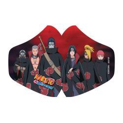 Naruto máscara de tela Akatsuki - Imagen 1