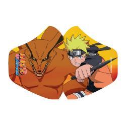 Naruto máscara de tela Naruto & Kurama - Imagen 1