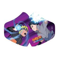 Naruto máscara de tela Naruto Vs Sasuke - Imagen 1