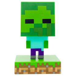 Minecraft lámpara 3D Icon Zombie - Imagen 1