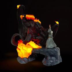 El Señor de los Anillos Lámpara LED USB The Balrog Vs Gandalf 41 cm - Imagen 1