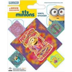 Minions Pegatina Vinilo Pack (10) Groovy - Imagen 1