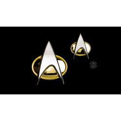 Star Trek: The Next Generation Set de Chapa & Pin Communicator - Imagen 1
