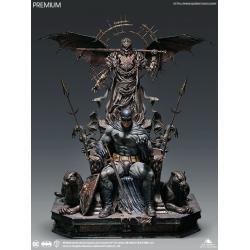 DC Comics Estatua 1/4 Batman on Throne Premium Edition 92 cm - Imagen 1