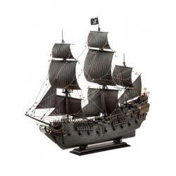 Piratas del Caribe La Venganza de Salazar Maqueta 1/72 Black Pearl Limited Edition 50 cm - Imagen 1