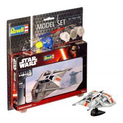 Star Wars Maqueta 1/52 Model Set Snowspeeder 10 cm - Imagen 1