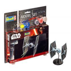 Star Wars Maqueta 1/110 Model Set TIE Fighter 9 cm - Imagen 1