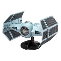 Star Wars Maqueta 1/57 Darth Vader´s TIE Fighter 18 cm - Imagen 1