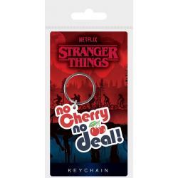 Stranger Things Llaveros caucho No Cherry No Deal 6 cm Caja (10) - Imagen 1