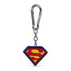 Superman Llaveros 3D Logo 4 cm Caja (10) - Imagen 1