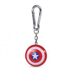 Capitán América Llaveros 3D Shield 4 cm Caja (10) - Imagen 1